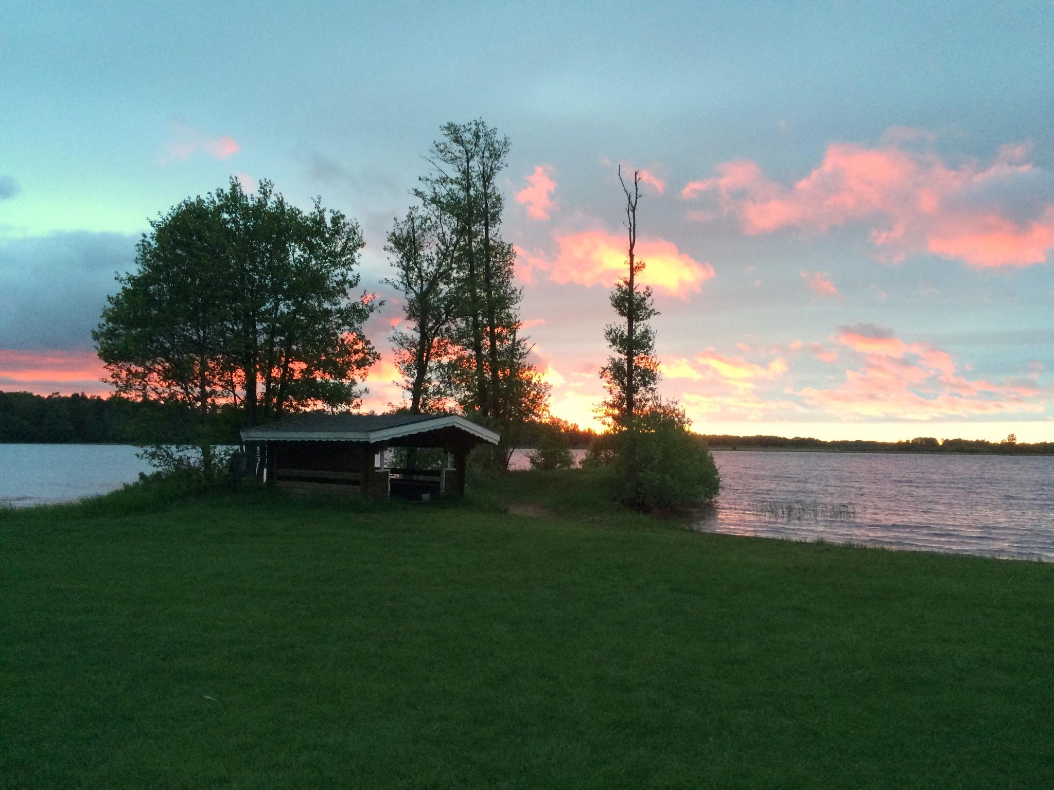 Sunset Vidöstern