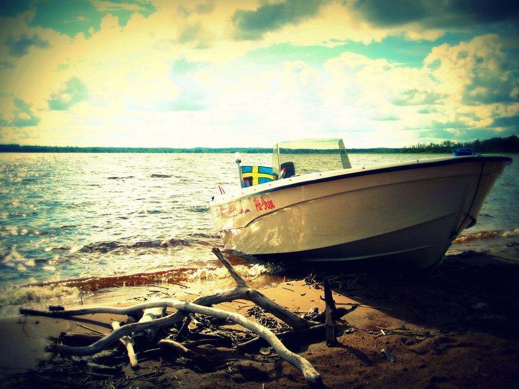 Boot Schweden Vidöstern