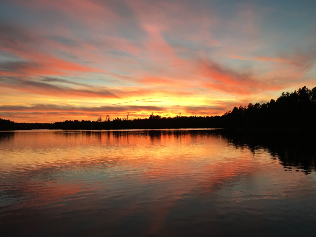 Sunset Örsjön