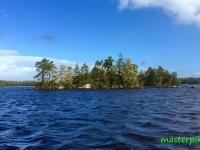 Örsjön Schweden Blue Sky